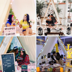 Productos Teepee cancún